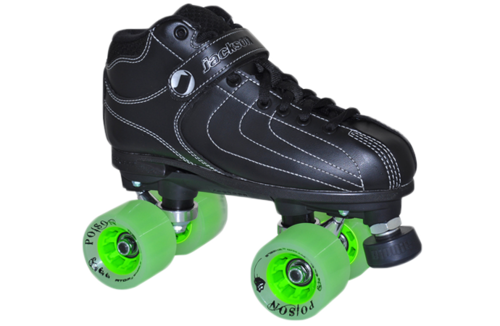 VIBE  DERBY - Boot: Vibe, Plate:  Jackson, Wheels: Poison, Bearings: Bionic ABEC 7