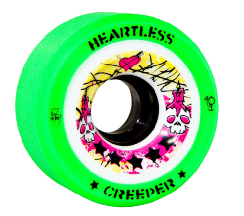 Heartless Creeper Wheel 90A - 4 Pack
